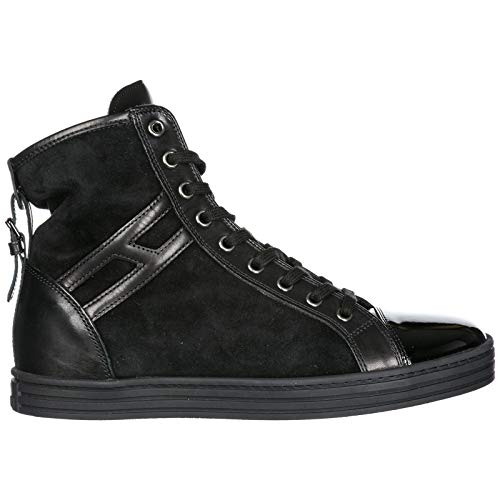 Hogan Rebel Sneakers Alte R182 Donna Nero 35 EU