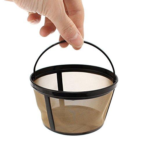INOVEY Wieder Verwendbarer Gold Kaffee Filter Korb Für 10-12 Tasse Kaffeemaschine, Die Maschine Bildet