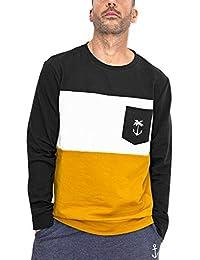 479ae60cc7 VIENTO Patch Pocket Tropical Anchor Sweatshirt para Hombre