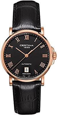 Certina Men's Watch XL Analogue Automatic Leather C017,407,36,053,00