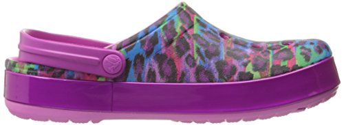 Crocs - Crocband Animal Ii, Zoccoli Unisex – Adulto Rosa (Party/Pink)
