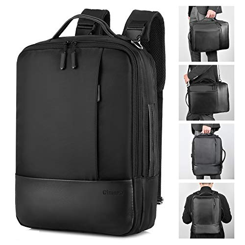 Gimars Upgrade Design 3 in 1 Zaino Messenger Bag per Computer Portatile da 15.6'Borsa a...
