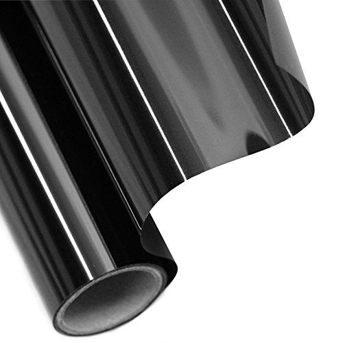 Tönungsfolie Sonnenschutzfolie Fensterfolie 85% SCHWARZ 300x75cm