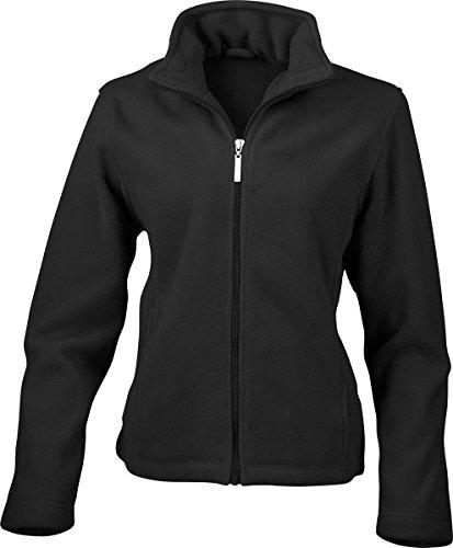 Résultat femmes veste manteau d'hiver Mesdames fermeture éclair semi-micro Veste en polaire pour homme Noir - Noir