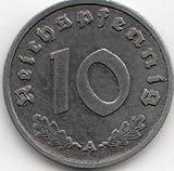 Deutsches Reich Jägernr: 371 1941 A vorzüglich Zink vorzüglich 1941 10 Reichspfennig Reichsadler (Münzen für Sammler)