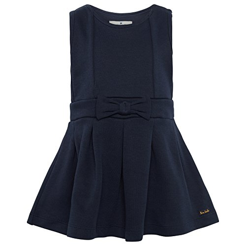 TOM TAILOR für Babies, für Mädchen Kleider & Jumpsuits Kleid mit Schleifenband real navy blue 86