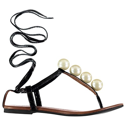 jeffrey-campbell-damen-taj-ball-lack-sandalen-flach-leder-perlen-verziert-schwarz-5-38