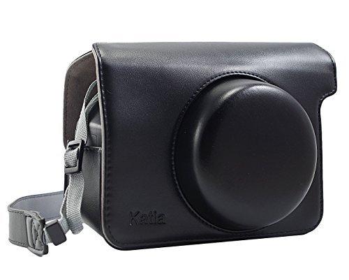 Schutz Kamera Tasche mit Schultergurt für Fujifilm Instax Wide 300 Kamera - Schwarz (Polaroid 300 Kameras)