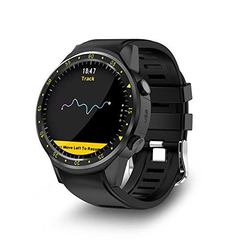 Lixada Touchscreen Smart Watch GPS Digital Armbanduhr Smart Kamera Calling Pace Geschwindigkeit Kalorien Lauf Jogging Wandern Klettern Sport Watch