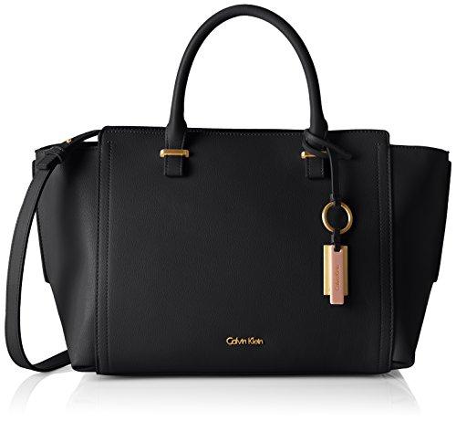 Calvin Klein Jeans Damen MYR4 BUSINESS TOTE Tote Schwarz (Black)
