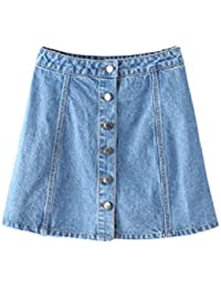 b1b6b9fd4cd7 Amazon.fr   jeans - Jupes   Femme   Vêtements