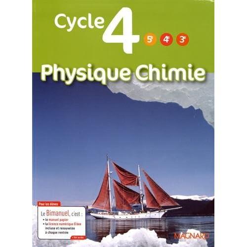 Physique Chimie Cycle 4 (5e/4e/3e)