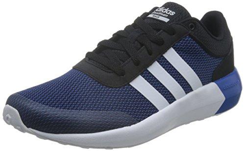 adidas - CLOUDFOAM RACE, Scarpe fitness Uomo Nero (Negro (Negro (Negbas / Ftwbla / Azul)))