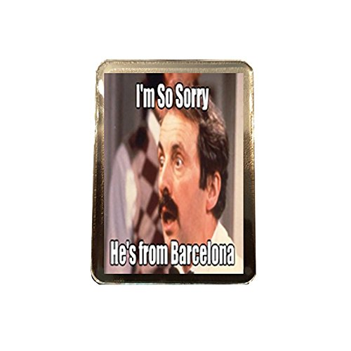 Fawlty Towers - Fridge Magnet (from Barcelona) -