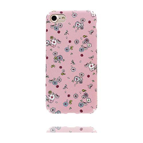iPhone 6S Custodia, morbida guarnizione TPU in gomma antigraffio protettiva Case iPhone 6s /6 copertura 4.7 Cover [ Sottile ] [Peso leggero] [ fiore Margherite ] color 2