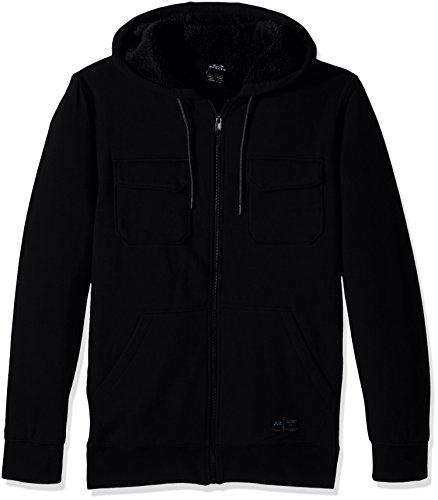 Oakley Agent Hoodie–Sweatshirt–Herren Jet Black