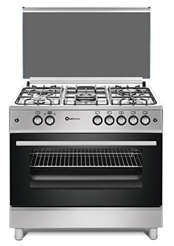 Cocina SolThermic F9L50G2-I PANORÁMICA de color Color INOX compuesta por 5 Quemadores...
