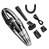 Lembeauty Chargement USB sans Fil de Voiture pour aspirateur Sec et Humide Aspirateur...