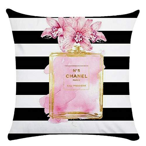 Lippenstift parfüm tasche high heel leinen kissen mantel kissen ebay Amazon direkt ab werk bericht 10 45 * 45 cm