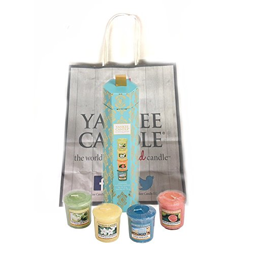 Easter gifts for amazon yankee candle viva havana 4 votive gift set ready to give as a gift for birthday special friend easter gift special occasion or simply for someone you negle Gallery