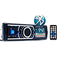 Sannysis Bluetooth Auto Audio FM Entrada SD USB MP3 Radio