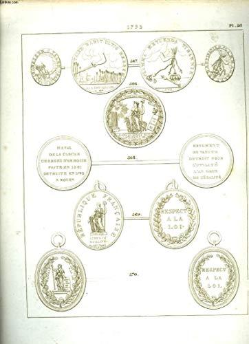 Histoire Numismatique de la Révolution Française. Planche N°56 : 1793 par HENNIN et VERAN