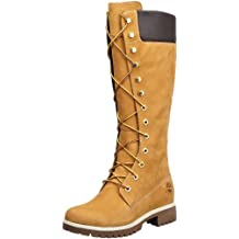 Timberland WOMS PREM 14IN WHEAT NUBK 3752R - Botas fashion de cuero para mujer