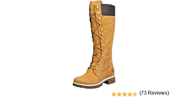 bottes femme lacet nubuck women's premium 14in timberland taille 41