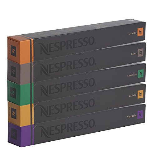 NESPRESSO SORTIMENT - 50 ESPRESSO KAPSELN - DHL