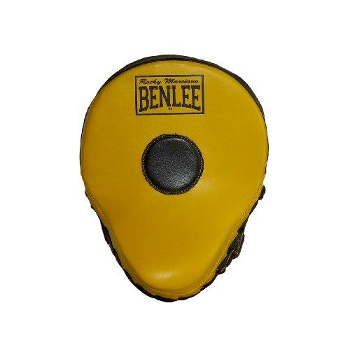 """BENLEE Rocky Marciano  Hook & Jap Pads """"Jersey Joe"""", Schwarz/ Gelb, Größe: onesize"""