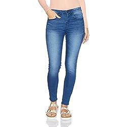 Jealous 21 Women's Slim Jeans (PJEBX-S-bY00821-16S1, 28, BLUE)