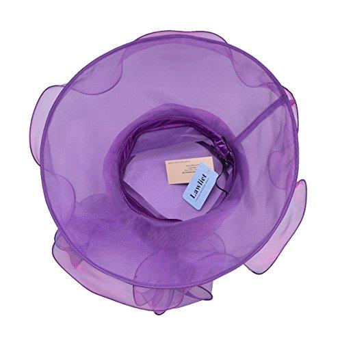 Lawliet - Capeline - Femme taille unique Violet