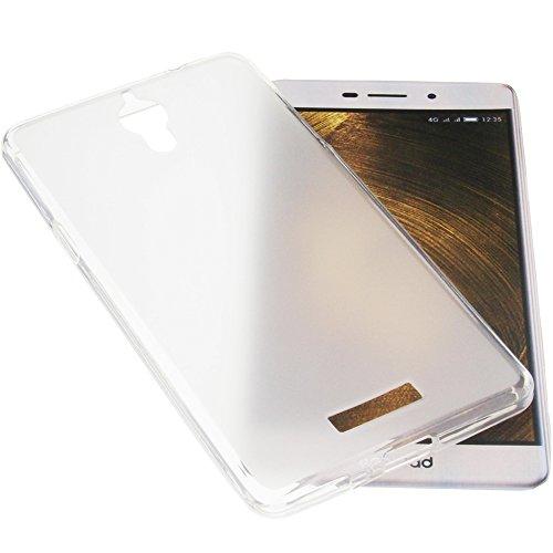foto-kontor Tasche für coolpad Modena 2 Gummi TPU Schutz Handytasche transparent weiß