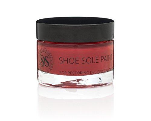 Préservez vos semelles avec «Red Touch Up Shoe Sole Paint»