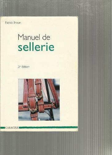 Manuel de sellerie