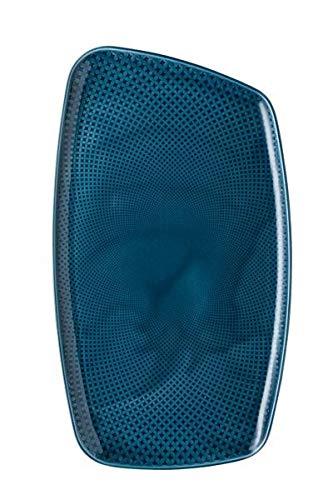 Rosenthal - Junto - Ocean Blue - Platte - Servierplatte - Teller - Porzellan - 36x21 cm Ocean Blue Teller