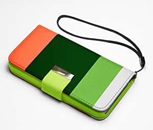 New Official Speedythings ® HYBRID STAND Dual Green-Orange Wallet FLIP LEATHER CASE COVER FOR NOKIA LUMIA 800 + FREE Screen Protector