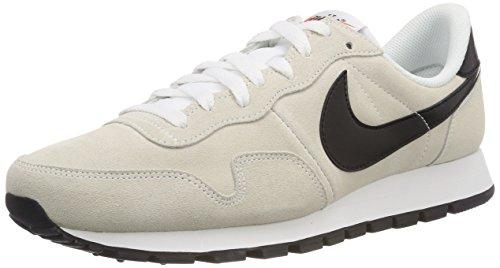 Nike Air Pegasus 83 LTR, Zapatillas de Deporte para Hombre, Blanco Black-Summit White-Safety Orange, 44.5 EU