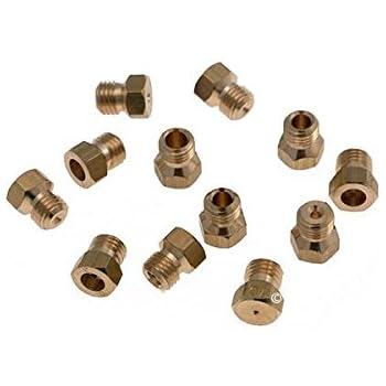 Kit injecteurs gn+butane+gas four indesit k3m51(w)/fr