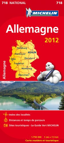 Carte NATIONAL Allemagne 2012