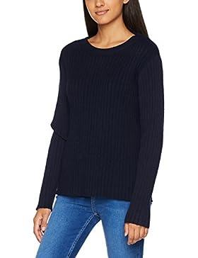 Vero Moda Vmava Svea LS Oversize Blouse Noos, suéter para Mujer