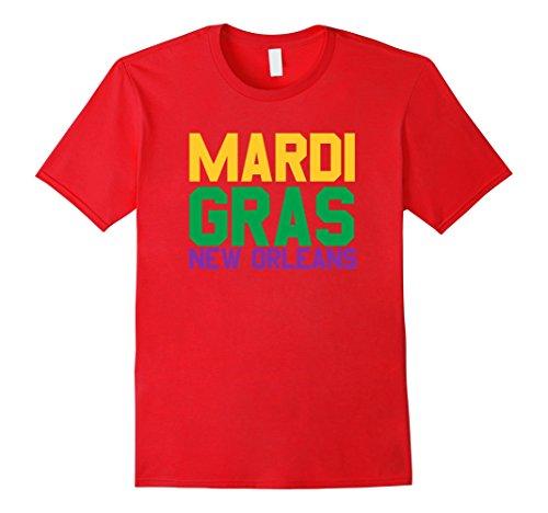 Mardi Gras New Orleans - Gift Idea T-Shirt Herren, Größe M (Gra Mardi Ideen)