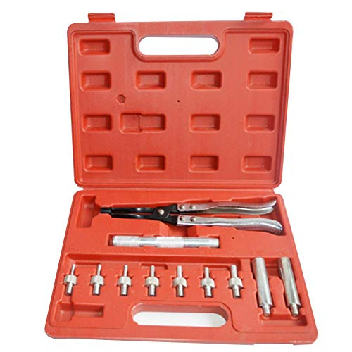 Pepional Auto Reparatur Ventilschaftsiegel Sitzwerkzeug-entferner und Installer Zangen Set Auto Garage Heavy Duty Reifen Reparatur Kit 11 Pcs