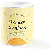 Confiserie Hussel Freudenstrahlen Orangen Geleestäbchen in Zartbitter-Schokolade, 175 g