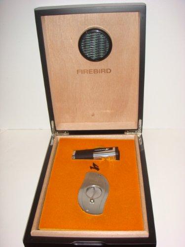 Colibri Cigar Humidor Gift Set