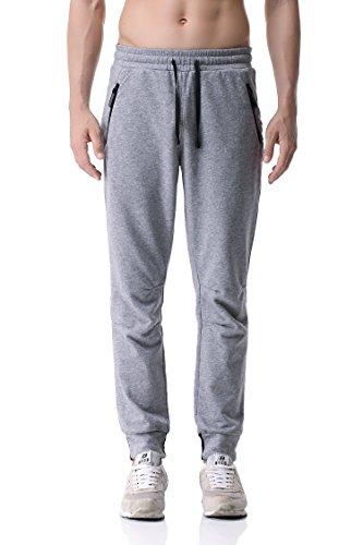 Pau1Hami1ton PH-24 Pantaloni da jogging da uomo Grigio