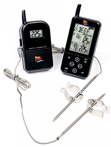 Maverick ET-733 Barbecue Funk-Thermometer Set, Farbe: schwarz