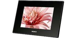 Sony DPF-A73/B Digitaler Bilderrahmen 17,8 cm (7 Zoll) Display (MS/ MS Duo/ SD/ SDHC/ xD, 16:10) schwarz