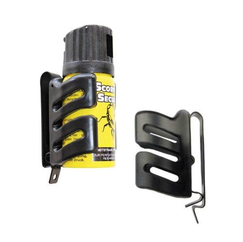 ESP Holster für Abwehrsprays Pfeffersprays CS KO GAS inklusive 1 Dose CS GAS im SET + G8DS® Aufkleber