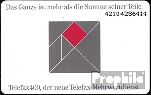 BRD (BR.Deutschland) P83 P 06/92 1992 Telefax 400 (Telefonkarten für Sammler)